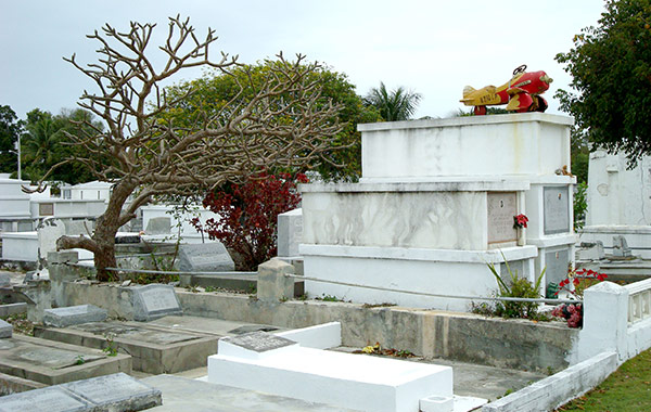 Key West Cemetery at Florida