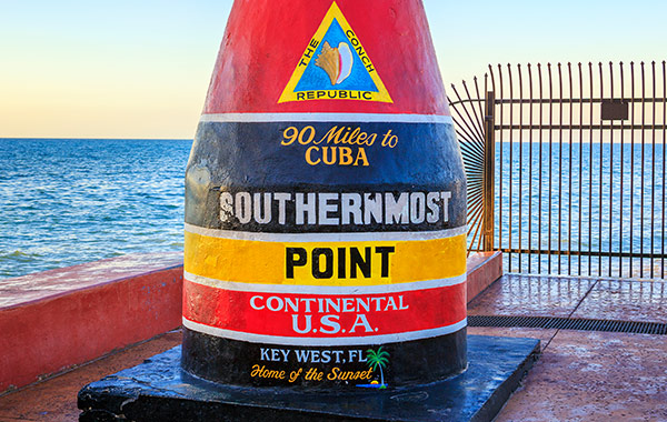 Florida The Southernmost Point in the Continental US