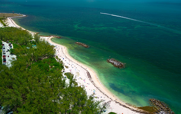 Fort Zachary Taylor State Park in Florida