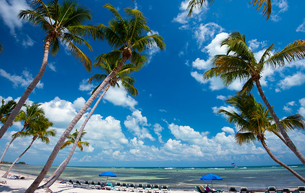 Smathers Beach at Key West