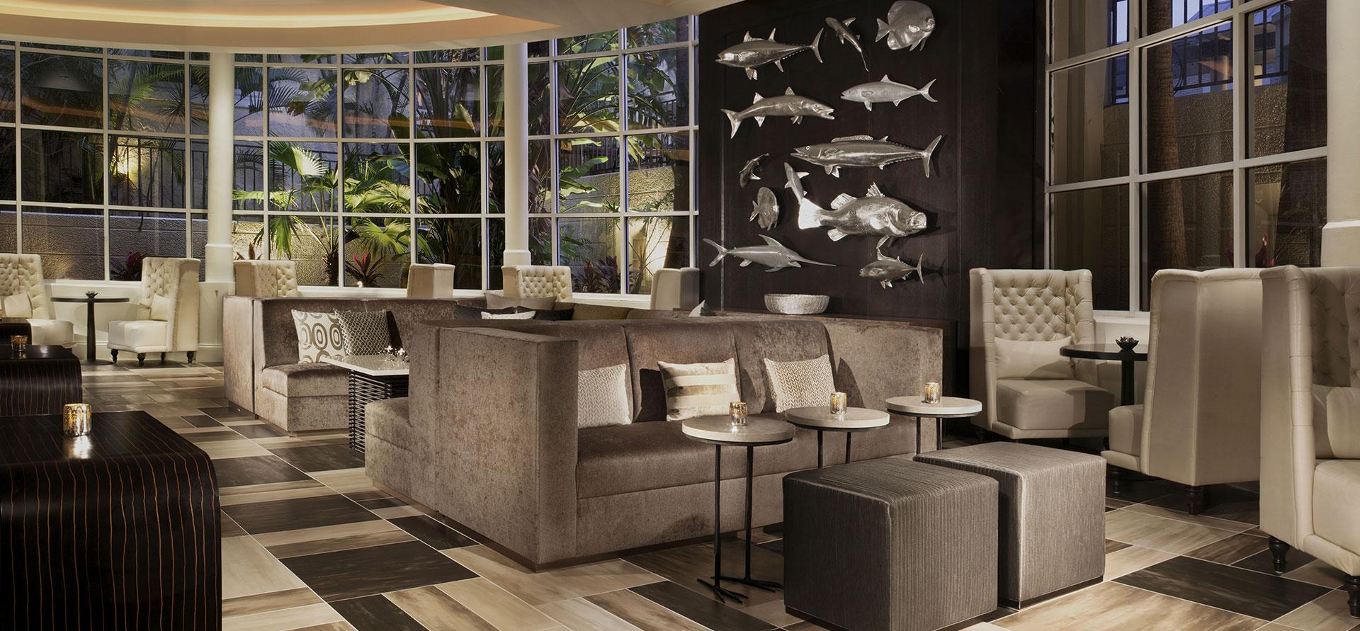 Dining Facilities at La Concha Hotel & Spa, Key West