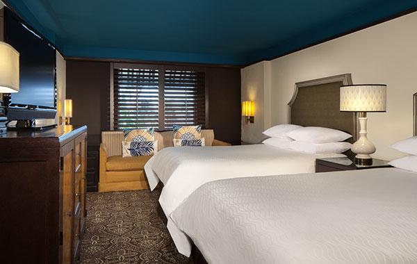2 Double Beds in La Concha Hotel & Spa Florida
