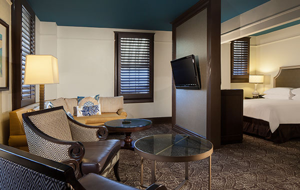 Deluxe King Suite La Concha Hotel & Spa, Key West