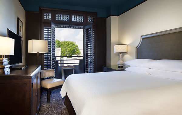 King Bed With Balcony at La Concha Hotel & Spa, Key West