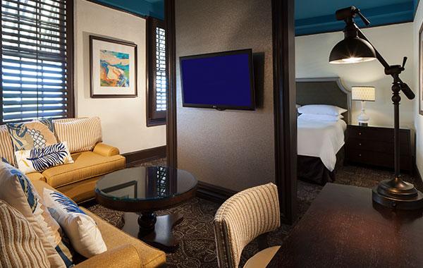 King Junior Suites in La Concha Hotel & Spa Key West, Florida