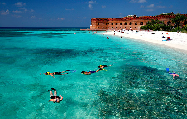 Dry Tortugas National Park & Fort Jefferson at Florida